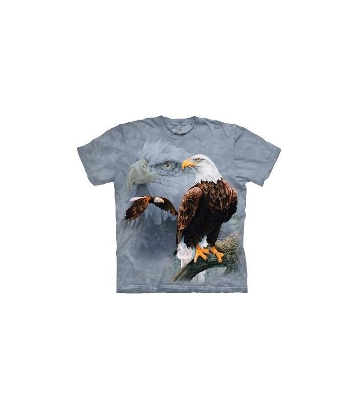 T-Shirt Groupe d'Aigles par The Mountain