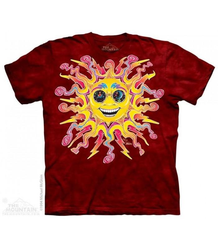 Batik Sun - T Shirt The Mountain