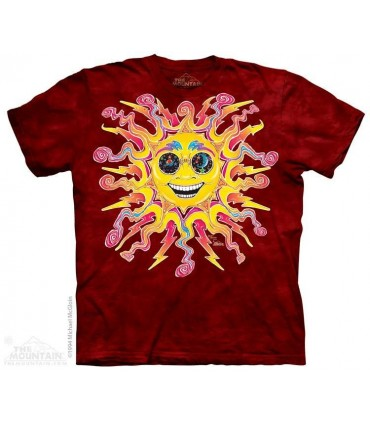 Batik Sun - T Shirt The Mountain