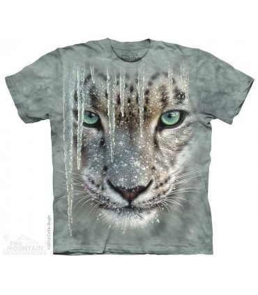 T-shirt Tête de Léopard des Neiges The Mountain