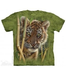 T-shirt Bébé Tigre The Mountain