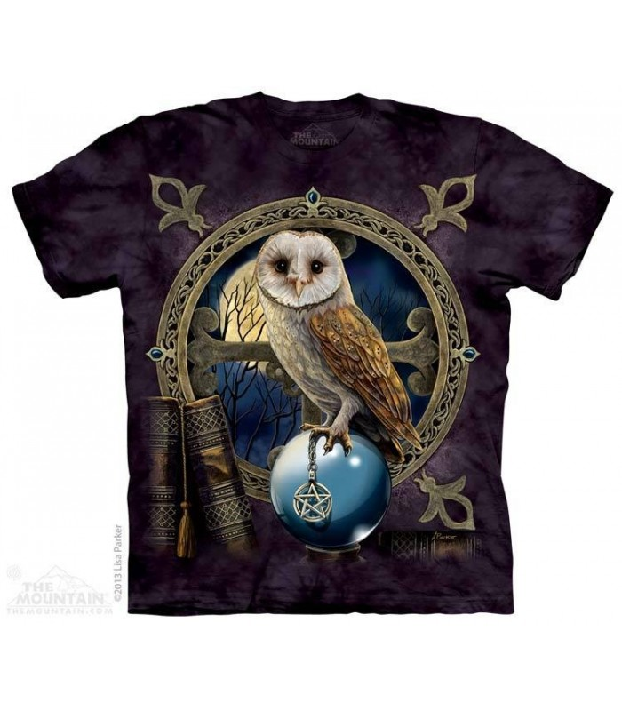 Spellkeeper - Owl T Shirt The Mountain