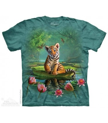 Petit Tigre flottant - T-shirt Tigre The Mountain