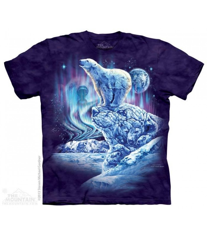 Trouver 11 ours polaires - T-shirt images cachées The Mountain