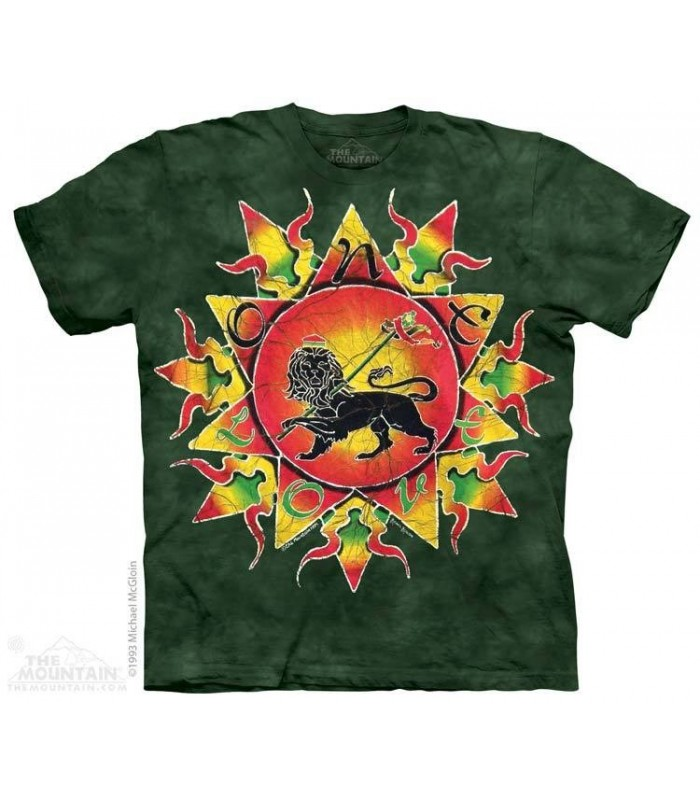 T-shirt un amour Batik The Mountain