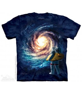 Surf Astral - T-shirt espace The Mountain