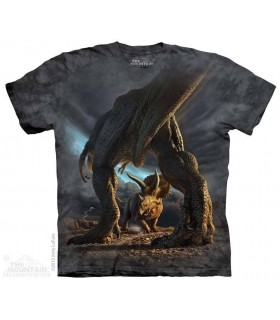 Bataille de Dinosaures - T-shirt Dinosaure The Mountain