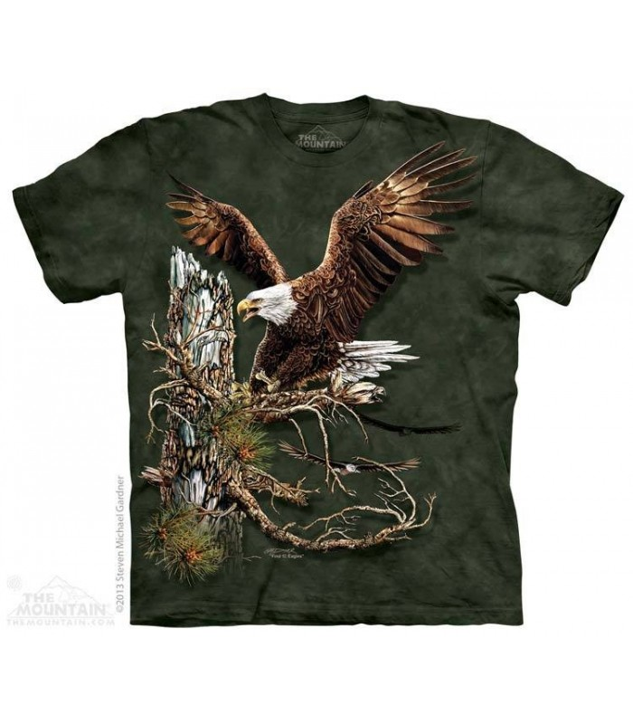 Trouver 12 Aigles - T-shirt Images Cachées The Mountain