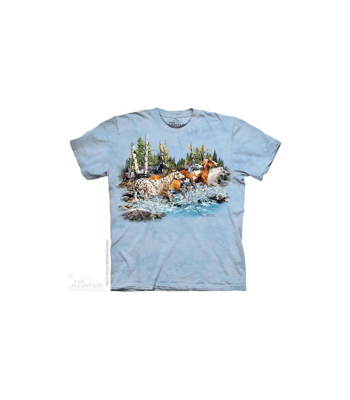 aa199e873ba Find running horses hidden images shirt the mountain jpg 734x840 Hidden  shirts