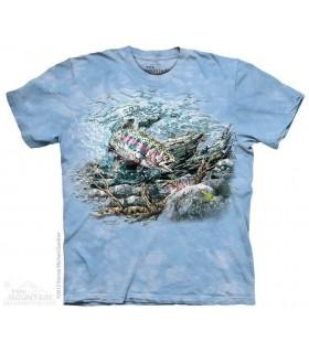 Trouver 11 Truites - T-shirt Poisson The Mountain