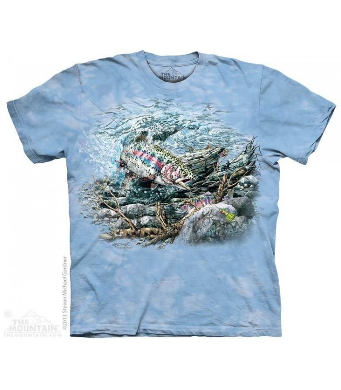 Find 11 Trout - Hidden Images T Shirt The Mountain