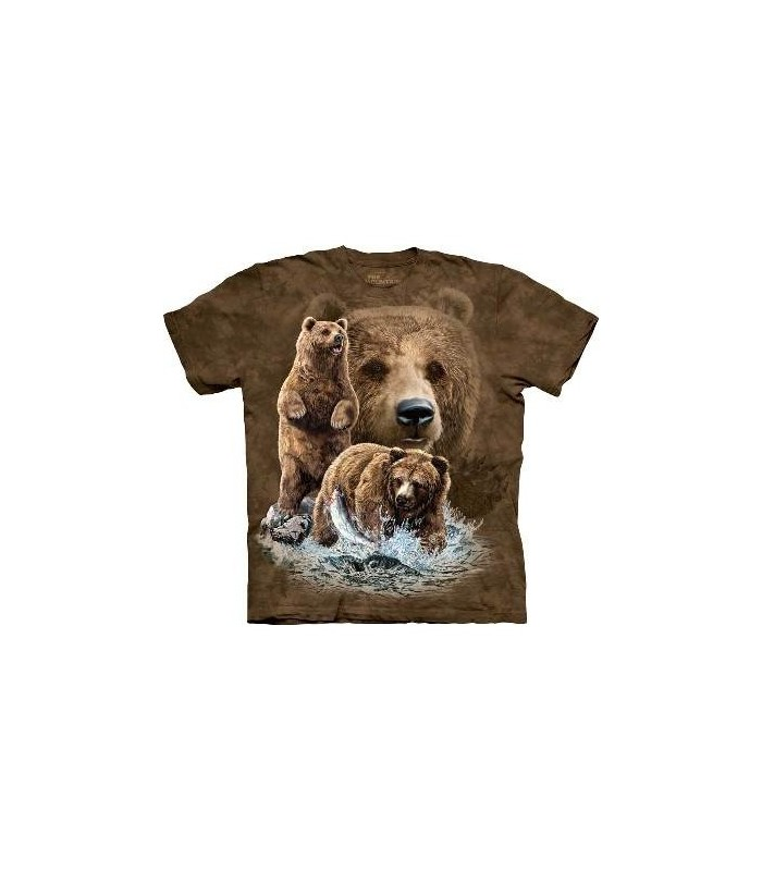 Trouver 10 Ours - T-shirt Ours The Mountain