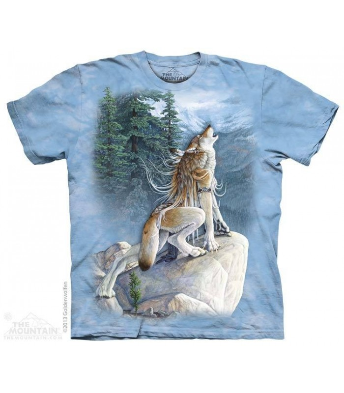 Heart Song - Wolf T Shirt The Mountain