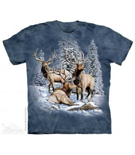 Find 8 Elk - Hidden Images T Shirt The Mountain