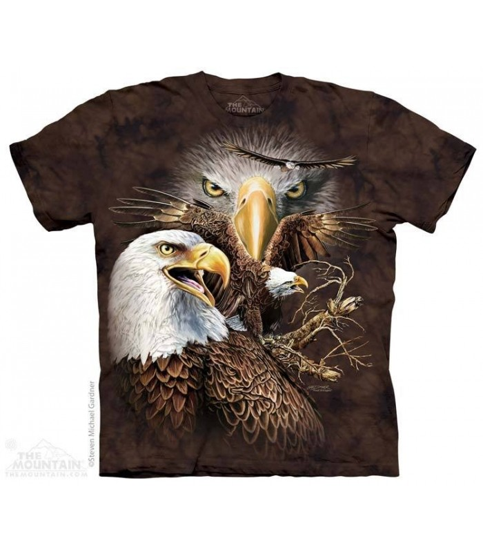 Find 14 Eagles - Hidden Images T Shirt The Mountain