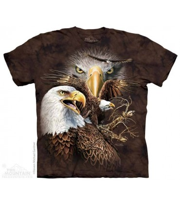 Trouver 14 Aigles - T-shirt Images Cachées The Mountain
