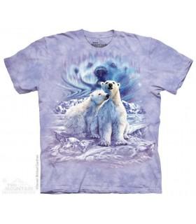 Find 10 Polar Bear Pair - Hidden Images T Shirt The Mountain