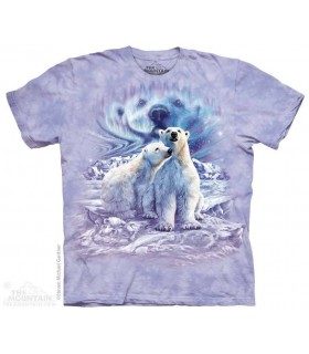 Trouver 10 Paires d'Ours Polaires - T-shirt Ours The Mountain