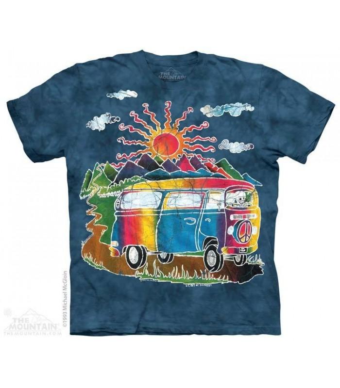 Batik Tour Bus - Lifestyle T Shirt The Mountain