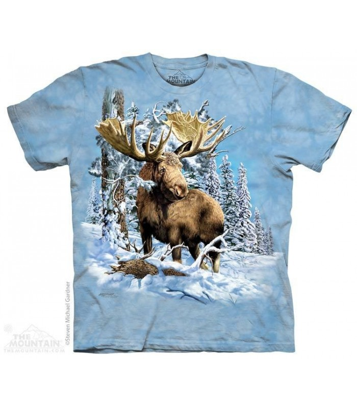 Find 7 Moose - Hidden Images T Shirt The Mountain