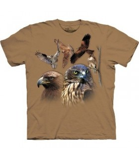 T-Shirt Oiseaux de Proie par The Mountain