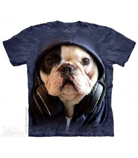 DJ Manny - T-shirt chien The Mountain