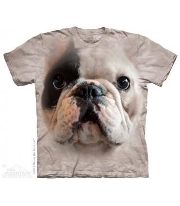 Big Face Manny - Dog T Shirt The Mountain