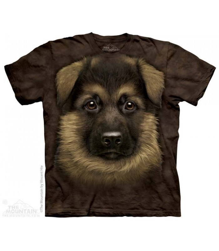 T-shirt Chiot Berger Allemand The Mountain