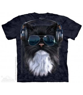 Cool Cat - Pet T Shirt The Mountain