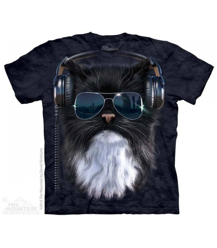 Chat Cool - T-shirt chat The Mountain