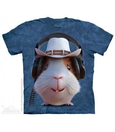 Guinea Pig Cowboy - Pet T Shirt The Mountain