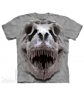 T-Rex Big Skull - Dinosaur T Shirt The Mountain