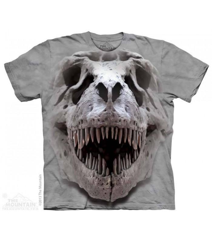 Crâne de T-Rex - T-shirt Dinosaure The Mountain