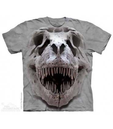 T-Rex Big Skull - Dinosaur T Shirt The Mountain