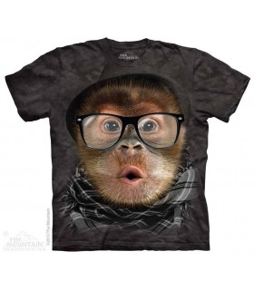 Hipster Orangutan baby - Primate T Shirt The Mountain