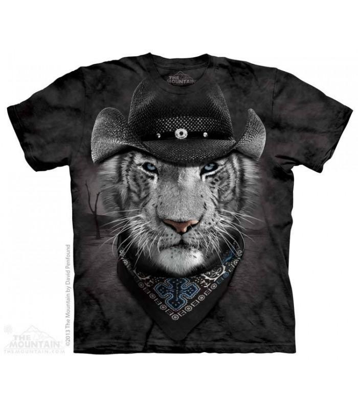 Tigre Blanc Cowboy - T-shirt Manimal The Mountain