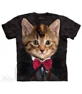 T-shirt Chaton Vampire The Mountain