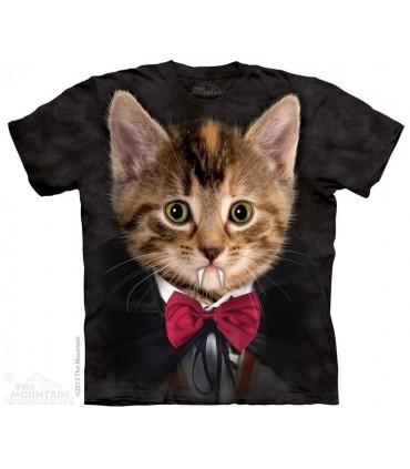 Vampire Kitten - Cat T Shirt The Mountain