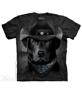 Cowboy Lab - Dog T Shirt The Mountain