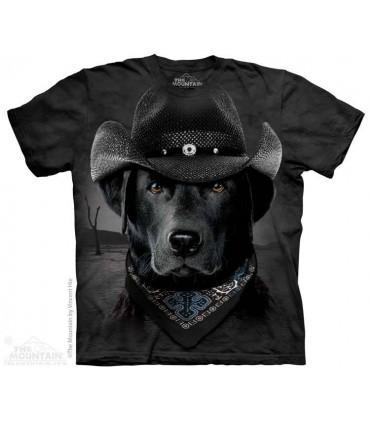 T-shirt Labrador Cowboy The Mountain