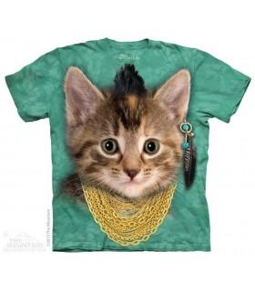 T-shirt Mauvais Chaton The Mountain