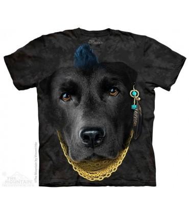 T-shirt Mauvais Labrador The Mountain