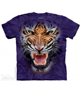 Grognement du Tigre - T-shirt Gros Chats The Mountain
