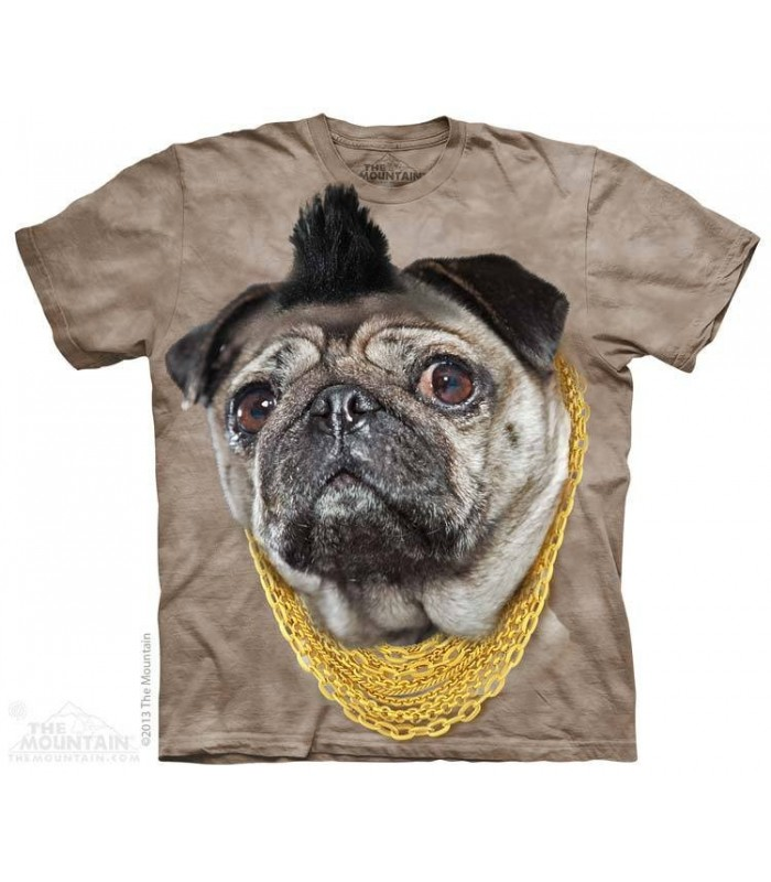 Mister P - T-shirt Chien The Mountain
