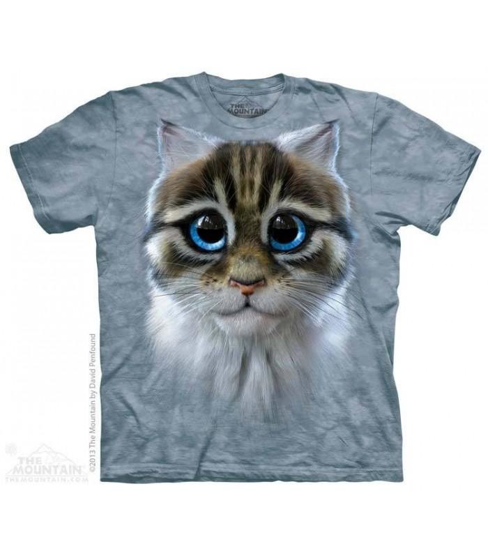 T-shirt Chat aux Yeux Bleus The Mountain
