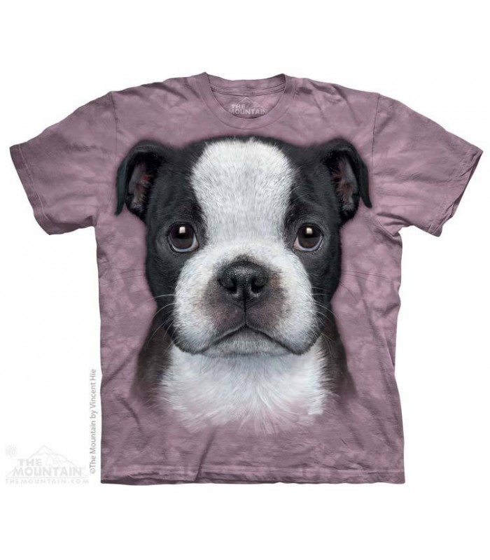 Chiot Boston Terrier - T-shirt Chien The Mountain
