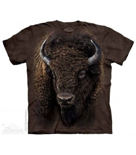 American Buffalo - Animal T Shirt The Mountain