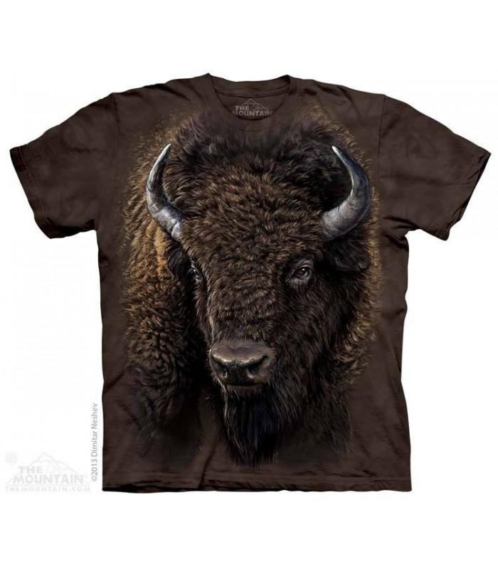 T-shirt Buffle Américain The Mountain