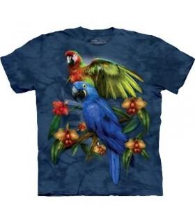 Amis Tropicaux - T-Shirt oiseaux par The Mountain