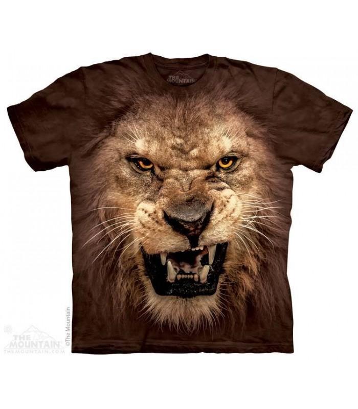 T-shirt Tête de Lion Rugissant The Mountain